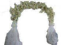 Arche blanc avec voile