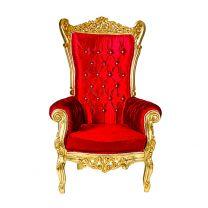 Trône Royal Rouge