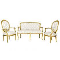 Banquette Louis XVI