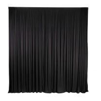 Voilage Noir 450x300 cm
